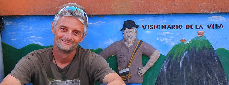 El Peñol, Colombia - Foredrag med Jan Tvernø - Filosoffen og Vagabonden