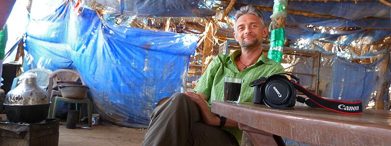 Den Nubiske Ørken, Sudan, Fotograf og researcher Jan Tvernø