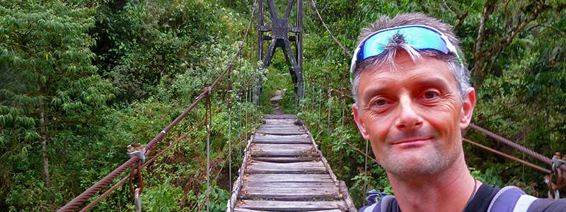 El Choro trek, Bolivia, Foredragsholder Jan Tvernø - Rejs med Jan Tvernø