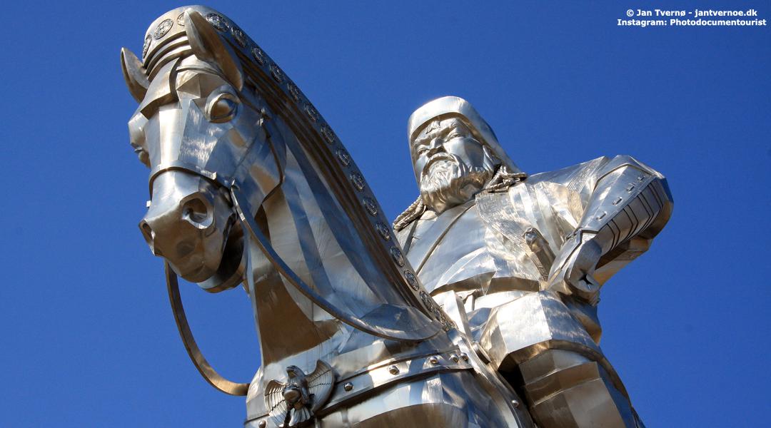 Djengis Khan Monument - Foredrag med Jan Tvernø - Foredrag om Mongoliet