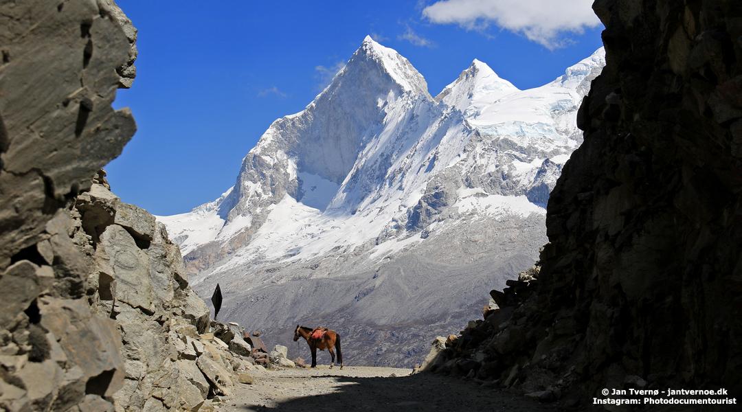 Huandoy, Cordillera Blanca, Peru - Foredrag med Jan Tvernø - Foredrag om Peru