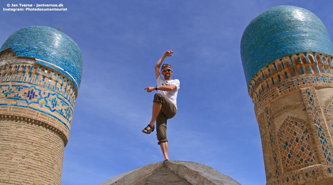 Bukhara Usbekistan - Foredragsholder Jan Tvernoe