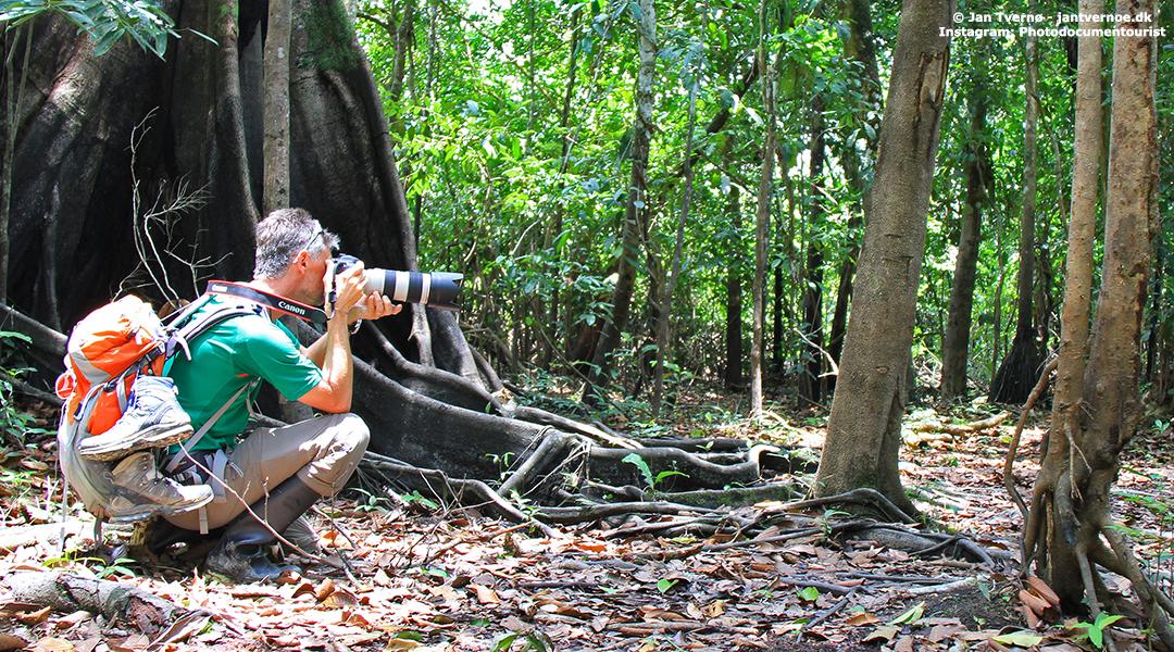 Leticia Amazonas Colombia - Fotograf og Researcher Jan Tvernoe