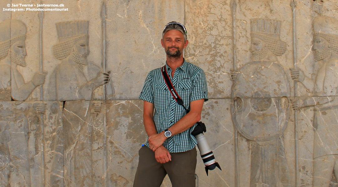 Persepolis Iran - Foredragsholder Jan Tvernoe