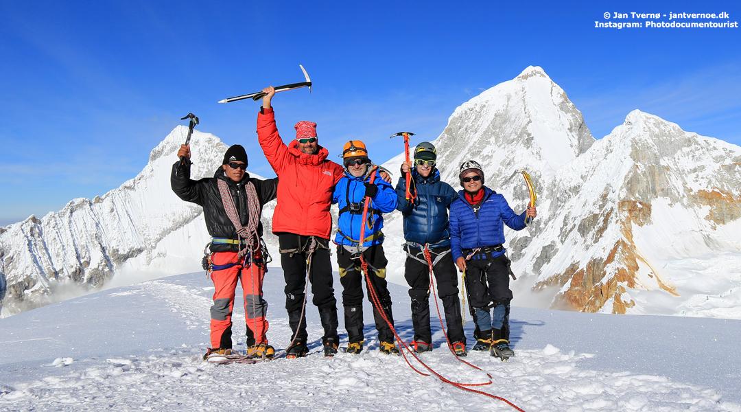 Pisco Cordillera Blanca Peru - Freelance rejseleder Jan Tvernoe