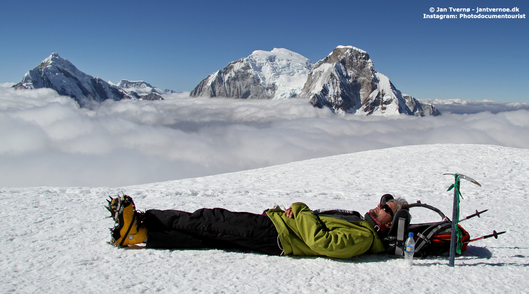 Pisco Cordillera Blanca Peru - Just another day at the office - Foredrag med Jan Tvernoe