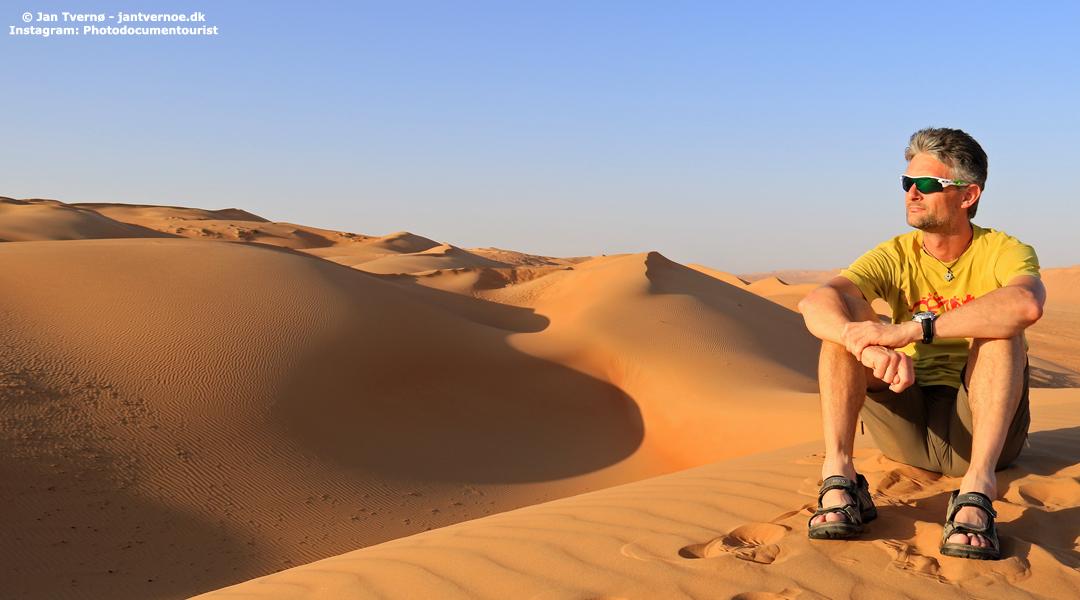 Sharqiya Sands Oman - Foredrag med Jan Tvernoe