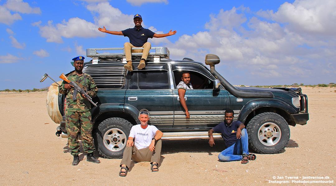 Somaliland - Khat Kaos og Kalashnikov - Foredrag med Jan Tvernoe